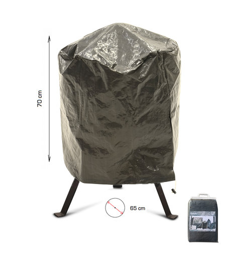 COVER UP HOC COVER UP HOC Basic bbq hoes rond - 65x70 cm - Barbecue hoes -  afdekhoes ronde bbq