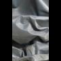 CUHOC Diamond topkwaliteit waterdichte parasolhoes voor zweefboogparasol - 205x57x40x25 cm - Zilvergrijs met Rits, Stok, Trekkoord & Stopper