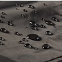CUHOC (Zweef) Parasolhoes 280 cm / Beschermhoes Parasol / Afdekhoes Parasol met rits Zwart / 280x81x30x45