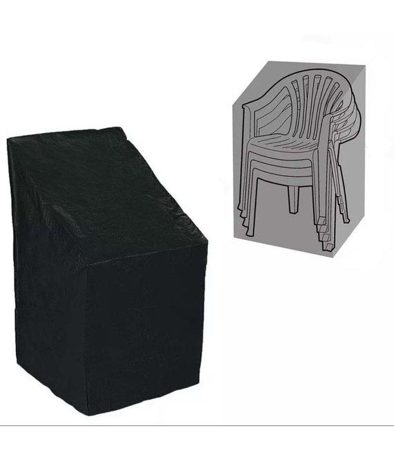 CUHOC Stapelstoel Beschermhoes - Zwart - 105x68x68 cm