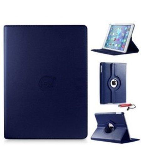 HEM HEM Apple iPad Pro (2020) - 12.9 inch HEM Hoes Donker Blauw met uitschuifbare hoesjeswebstylus