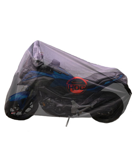 CUHOC Triumph Tiger 1200 COVER UP HOC Motorhoes stofvrij / ademend / waterafstotend Red Label
