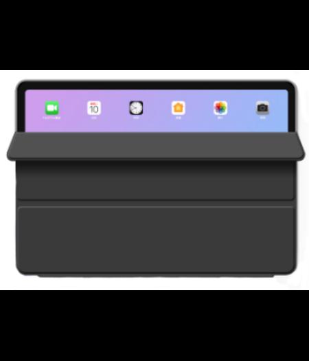 HEM Hoesje voor Apple iPad Air 2020 - Hoesje voor iPad Air 4 - Book Cover Siliconen - Vouwbaar - Zwart - met handige Hoesjesweb touchscreenpen!- iPad 10.9