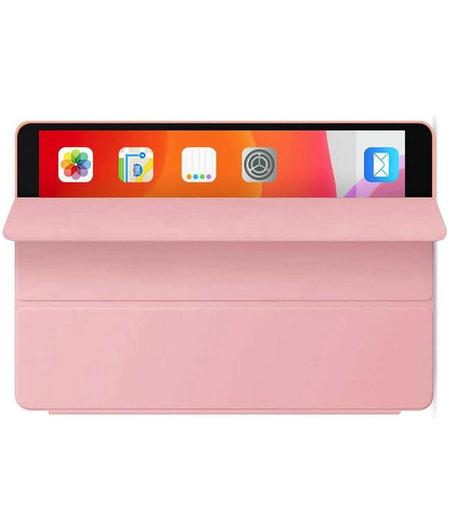 HEM Apple iPad 2019/2020 hoes 10.2 inch - Ipad 2019 hoes - ipad 7 hoes - Ipad 8 hoes - Ipad 10.2 hoesje - Ipad 10.2 case - Ipad 10.2 Autowake Cover - Ipad hoes 2019/2020 - Rose Gold - Gehele bescherming voor Ipad