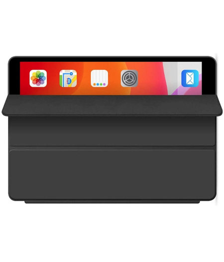 HEM Apple iPad 2019/2020 hoes 10.2 inch - Ipad 2019 hoes - ipad 7 hoes - Ipad 8 hoes - Ipad 10.2 hoesje - Ipad 10.2 case - Ipad 10.2 Autowake Cover - Ipad hoes 2019/2020 - Zwart - Gehele bescherming voor Ipad