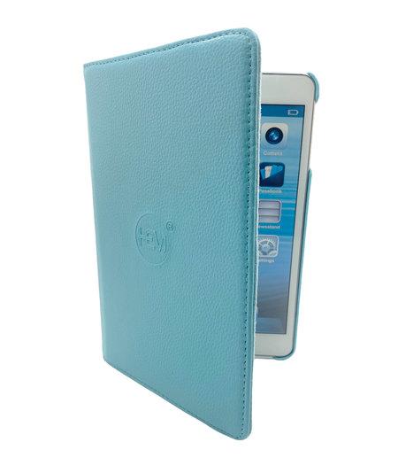 HEM Apple iPad 2019/2020 hoes 10.2 inch - Ipad 2019 hoes - ipad 7 hoes - Ipad 8 hoes - Ipad 10.2 hoesje - Ipad 10.2 case - Ipad 10.2 Autowake Draaibare Cover - Ipad hoes 2019/2020 - Licht Blauw - Gehele draaibare bescherming voor Ipad