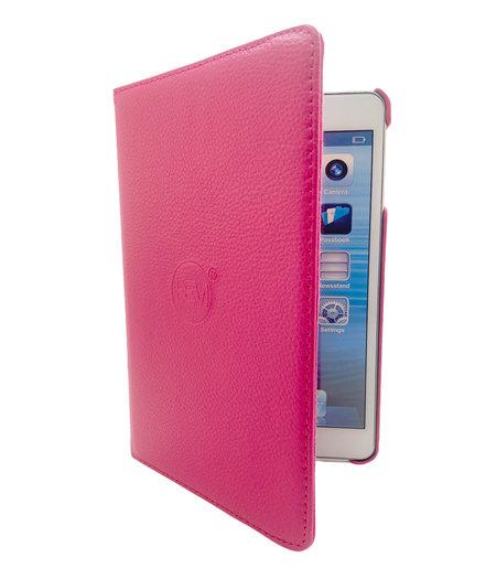 HEM Apple iPad 2020 hoes 10.9 inch - Ipad Air 4 2020 hoes - ipad Air 4 hoes - Ipad Air4  hoes - Ipad 10.9 hoesje - Ipad 10.9 case - Ipad 10.9 Autowake Draaibare Cover - Ipad hoes 2020 - Hard Roze - Gehele draaibare bescherming voor Ipad