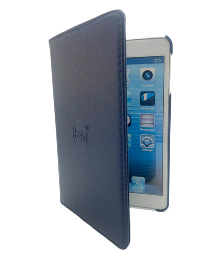 HEM Apple iPad 2020 hoes 10.9 inch - Ipad Air 4 2020 hoes - ipad Air 4 hoes - Ipad Air4  hoes - Ipad 10.9 hoesje - Ipad 10.9 case - Ipad 10.9 Autowake Draaibare Cover - Ipad hoes 2020 - Donker Blauw - Gehele draaibare bescherming voor Ipad