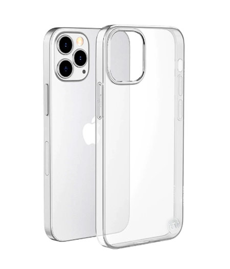 HEM iPhone 12 Pro Max siliconen hoesje - transparant siliconenhoesje  iPhone 12/ Siliconen Gel TPU / Back Cover / Hoesje doorzichtig iPhone 12  Pro  Max
