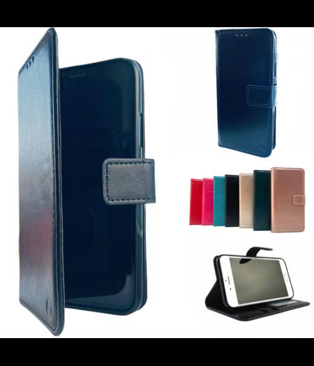 HEM Apple iPhone 12 Pro Max Zwarte Wallet / Book Case / Boekhoesje/ Telefoonhoesje / Hoesje iPhone 12  Pro Max met vakje voor pasjes, geld en fotovakje