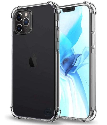 Apple iPhone 12 Pro Max hoesje Shockproof - transparant hoesje iPhone 12 Pro Max- hoesje met verdikte randen voor de iPhone 12 Pro Max