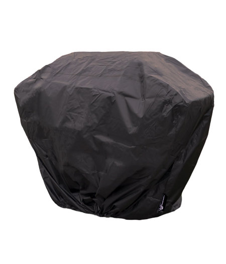 CUHOC COVER UP HOC RED Label BBQ hoes 145x61x117 cm Waterdichte Barbecue hoes / afdekhoes bbq / met trekkoord