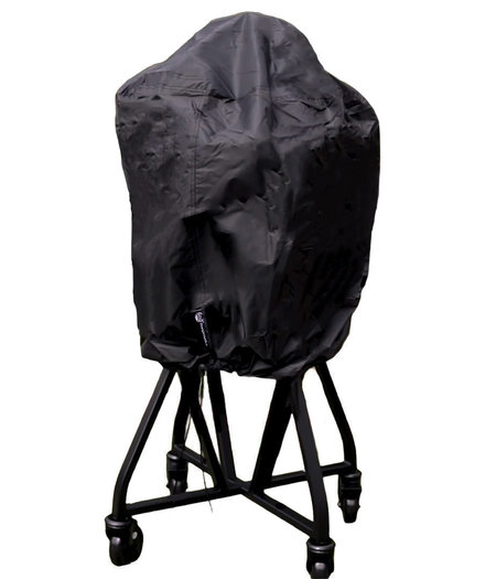 CUHOC COVER UP HOC RED BBQ hoes rond - 70x80 cm - Barbecue hoes -  afdekhoes ronde bbq Geschikt voor o.a. Kamado, Big Green Egg, Grill Guru, The Bastard, Patton
