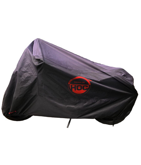 CUHOC BMW R1200GS COVER UP HOC Motorhoes stofvrij / ademend / waterafstotend Red Label