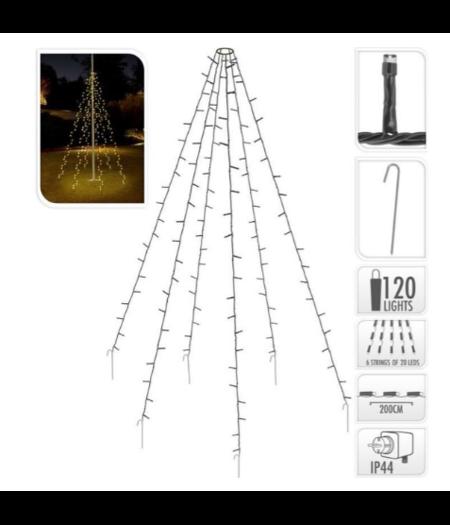 andere ean Vlaggenmast verlichting 120 LED's