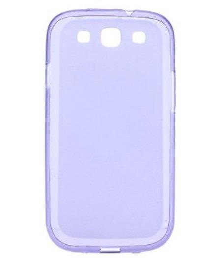 HEM Paars siliconenhoesje Samsung Galaxy S3 / S3 Neo