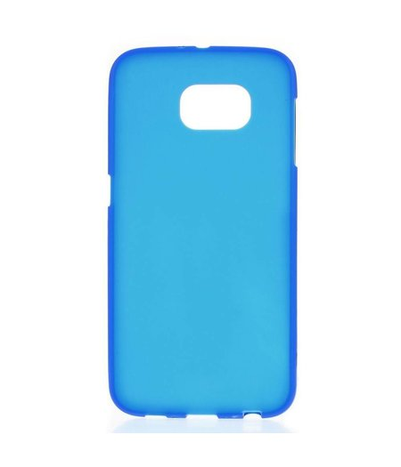 HEM Blauw Siliconenhoesje Samsung Galaxy S6 G9200