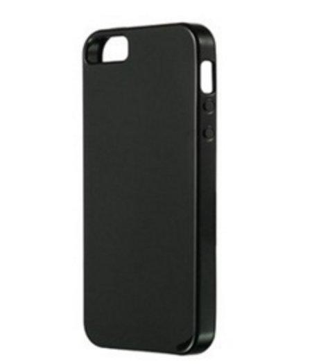 HEM Zwart siliconenhoesje iPhone 5/5S/SE