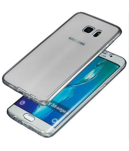 HEM Galaxy S7 SM-G930 Full protection siliconen zwart transparant voor 100% bescherming
