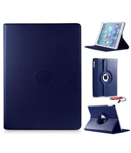 HEM iPad hoes 2/3/4 HEM Cover donker blauw met uitschuifbare Hoesjesweb stylus