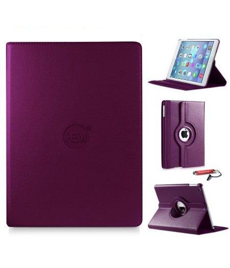 HEM iPad hoes Air 1 HEM Cover paars met uitschuifbare Hoesjesweb stylus