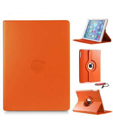 HEM iPad hoes Air 1 HEM Cover oranje met uitschuifbare Hoesjesweb stylus