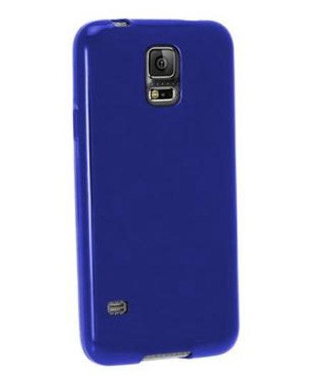 HEM Blauw Siliconenhoesje Samsung Galaxy S5 / S5 Neo