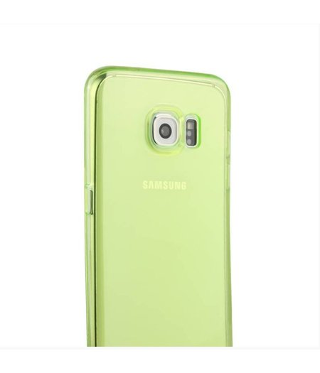 Groen Siliconenhoesje Samsung Galaxy S6 Edge SM-G925
