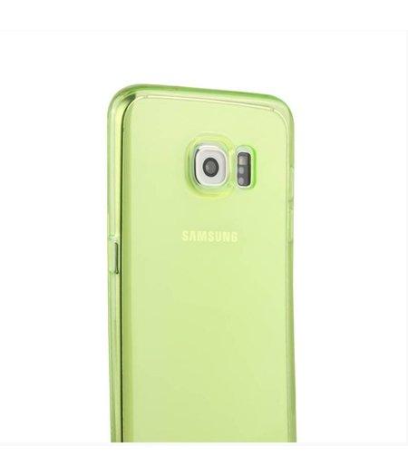 HEM Groen Siliconenhoesje Samsung Galaxy S6 Edge SM-G925