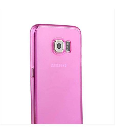 Roze Siliconenhoesje Samsung Galaxy S6 Edge SM-G925