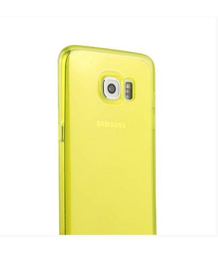 Geel Siliconenhoesje Samsung Galaxy S6 Edge SM-G925