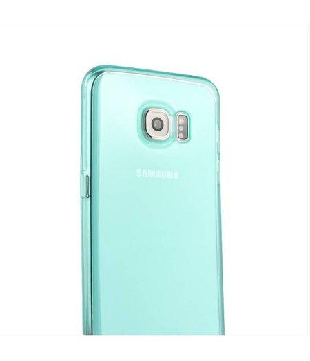 Turquoise Siliconenhoesje Samsung Galaxy S6 Edge SM-G925