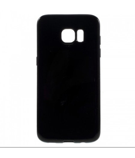 Zwart Siliconenhoesje Samsung Galaxy S6 Edge SM-G925