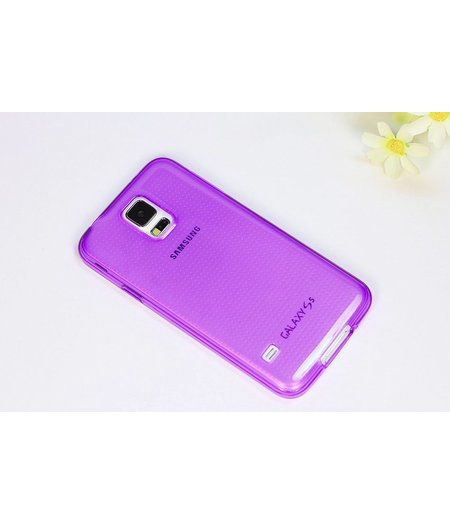 HEM Paars Siliconenhoesje Samsung Galaxy S5  / S5 Neo