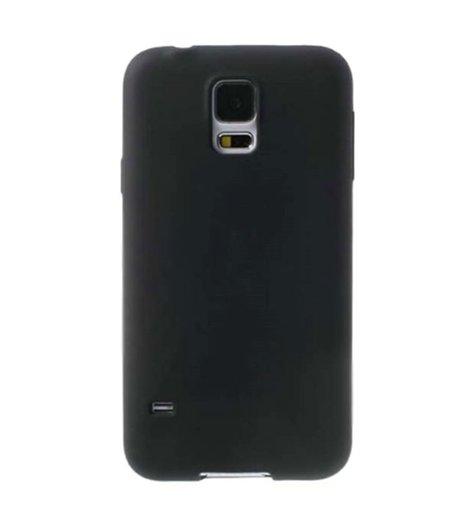 HEM Zwart Siliconenhoesje Samsung Galaxy S5 / S5 Neo