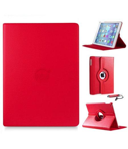HEM iPad mini hoes rood met extra stabiliteit en kleurvastheid voor iPad mini 1/2/3 met uitschuifbare Hoesjesweb stylus