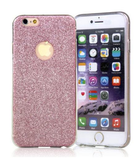 Roze Switch Glitter hoesje iPhone 5/5S/SE anti Shock 1000 in 1 hoesje