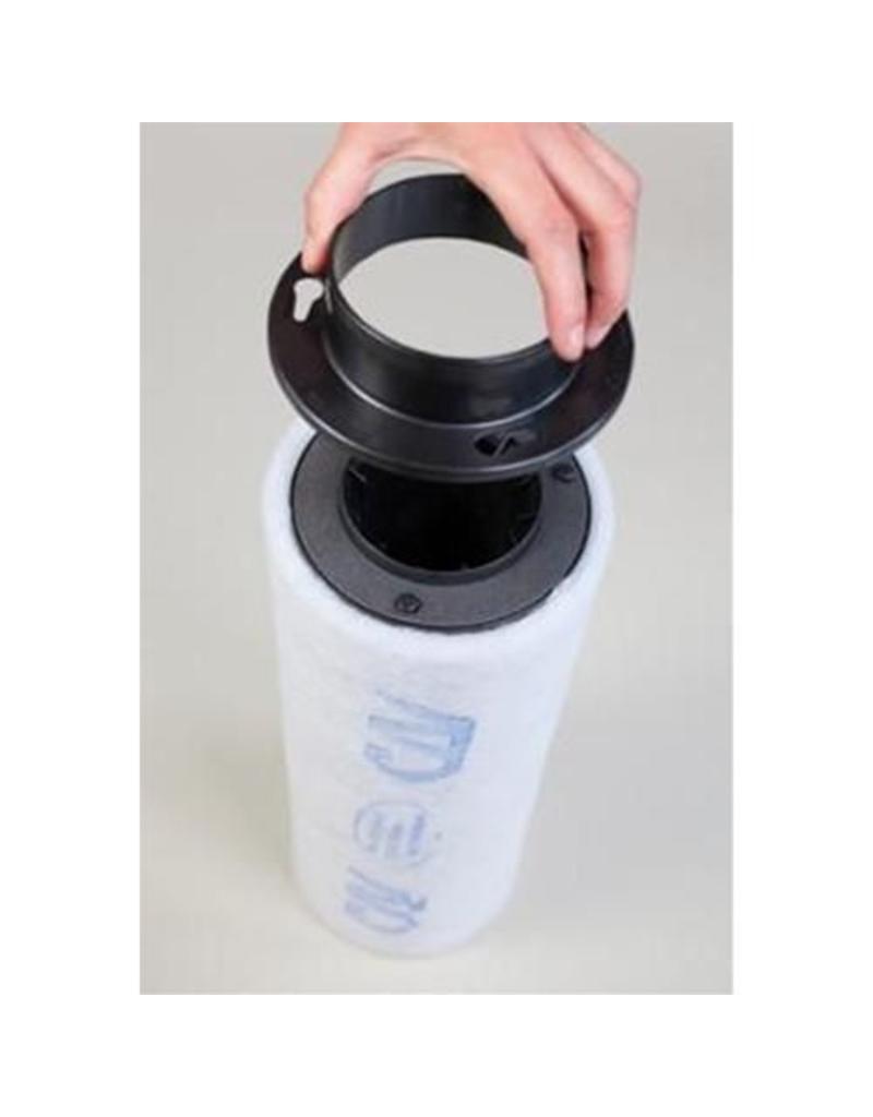 Kunststoff Flansch 100 ø (für CAN Filter)