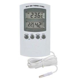 Thermo / Hygrometer Digitaal (Externe sensor)