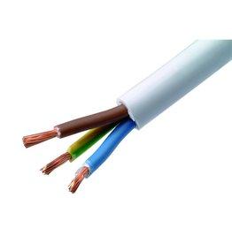 VMVL kabel weiß 3x1,5² mm pro Meter