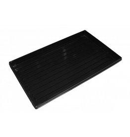 Tray für 84 Stück 4x4 cm Steinwolleblock geschlossen