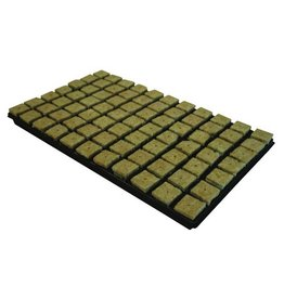 Cultilene Steinwolle Tray 4x4 cm 77 st. p/tray 18 trays P/box