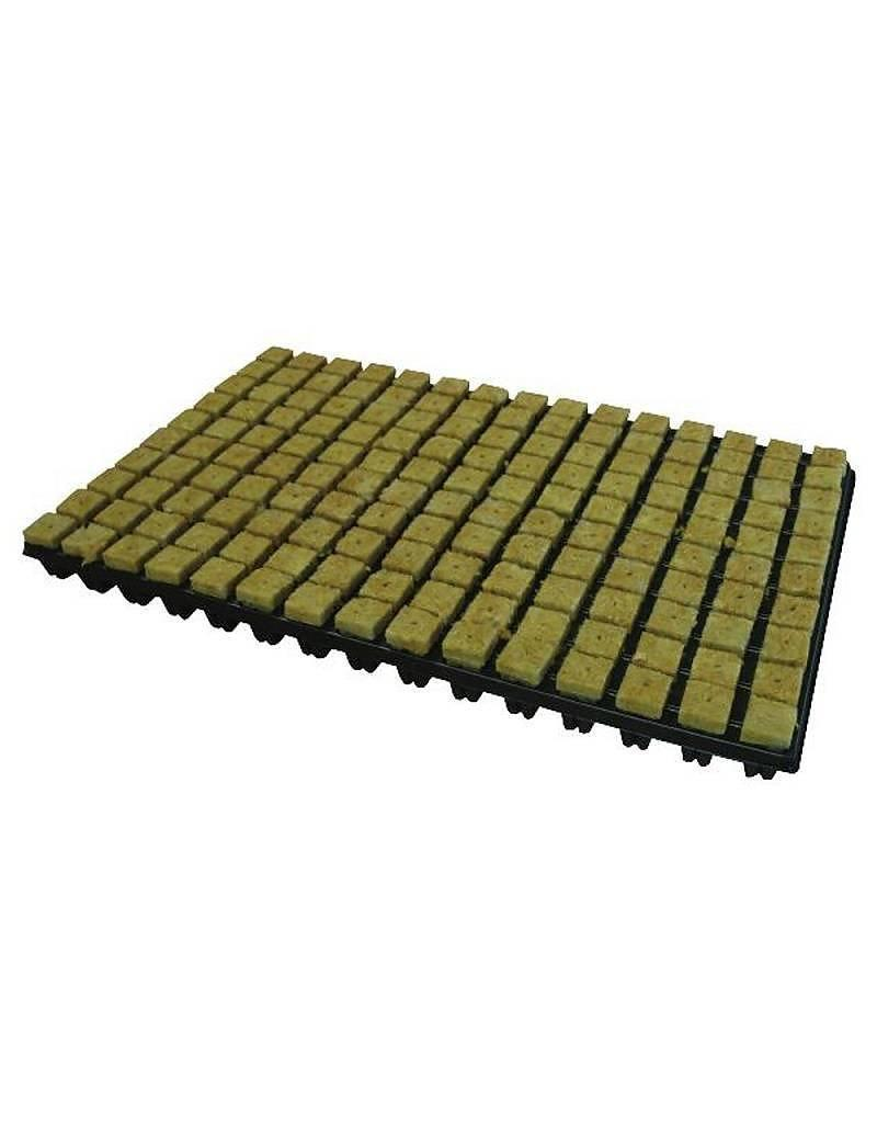 Grodan Steenwoltray 2x2 cm 150 st. p/tray