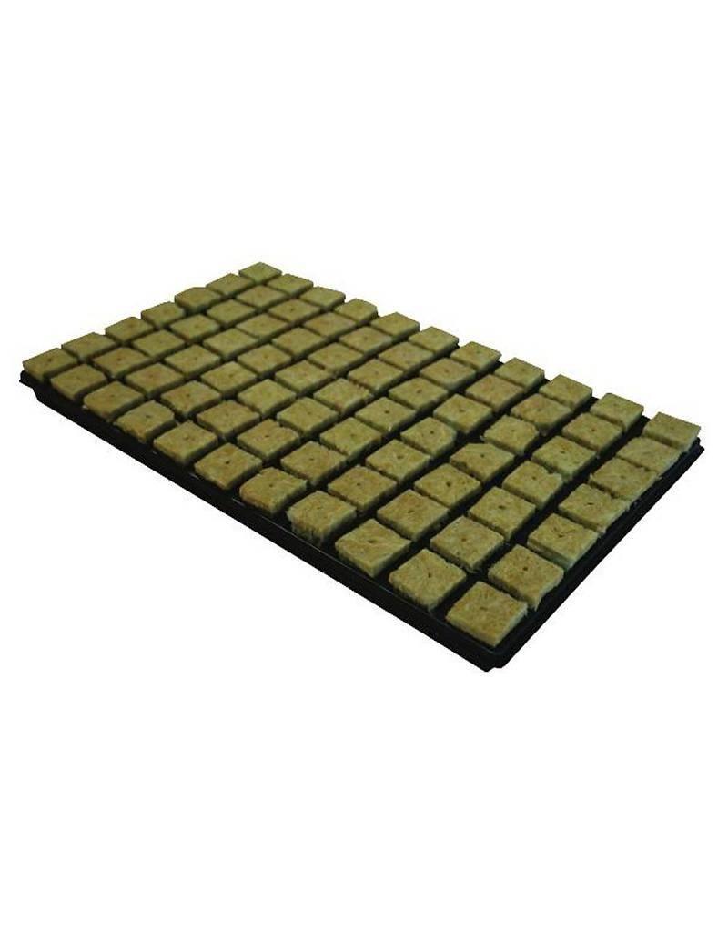 Grodan Steinwolle Tray 4x4 cm 77 st. p/tray