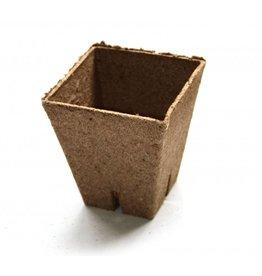 Jiffy pot vierkant 8x8x8 cm