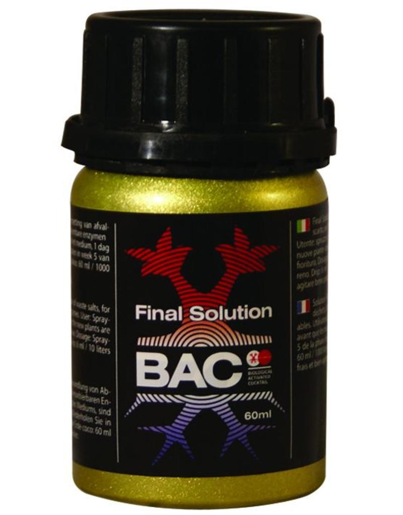 B.A.C. The Final Solution 60 ml