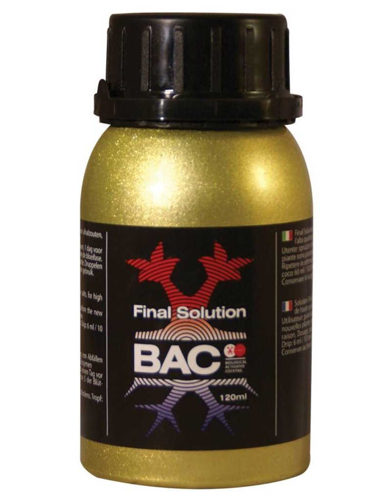 B.A.C. The Final Solution 120 ml