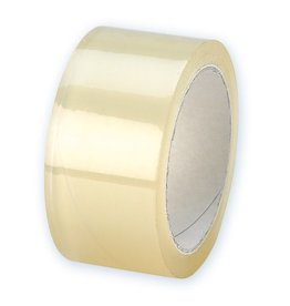 Expeditie tape transparant 50 mm x 66 mtr