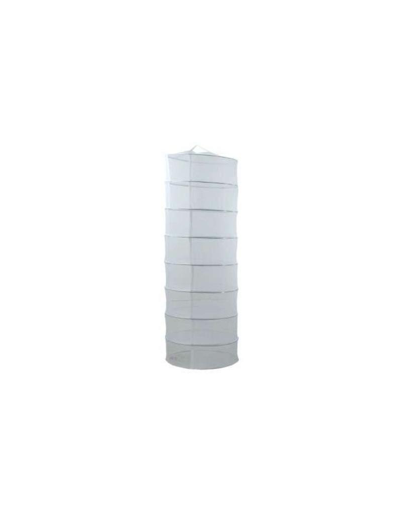 Dry-line droognet hangend groot 8 lagen 80 cm ø rond