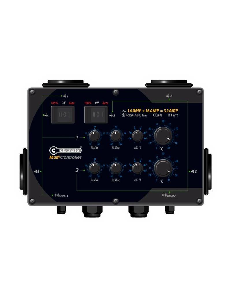 Cli-Mate Multi-controller 16+16 A